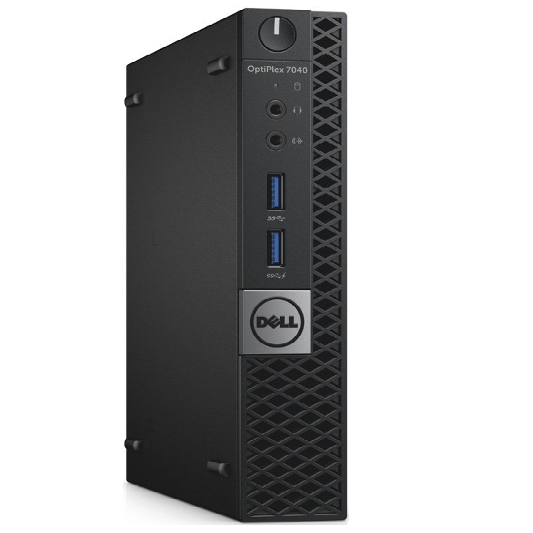 Персональный компьютер Dell Optiplex 7040 Micro i5 6500T (2.5)/8Gb/SSD256Gb/HDG530/Windows 7 Professional 64 +W10Pro/GbitEth/WiF 7040-0125
